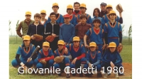 1980 Squadra Giovanile Cadetti