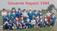 1984 Squadra giovanile Ragazzi