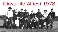 1978 Squadra giovanile Allievi