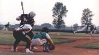 1988 Venanzi Fausto, Prati Antonio ed un battitore avversario