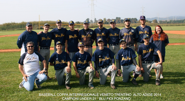 Ponzano squadra u21 2014